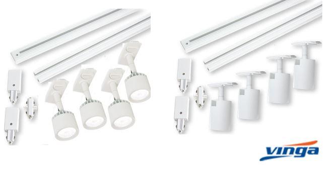 Mini-Rulle och Rutger, nya LED spotlights från Vinga