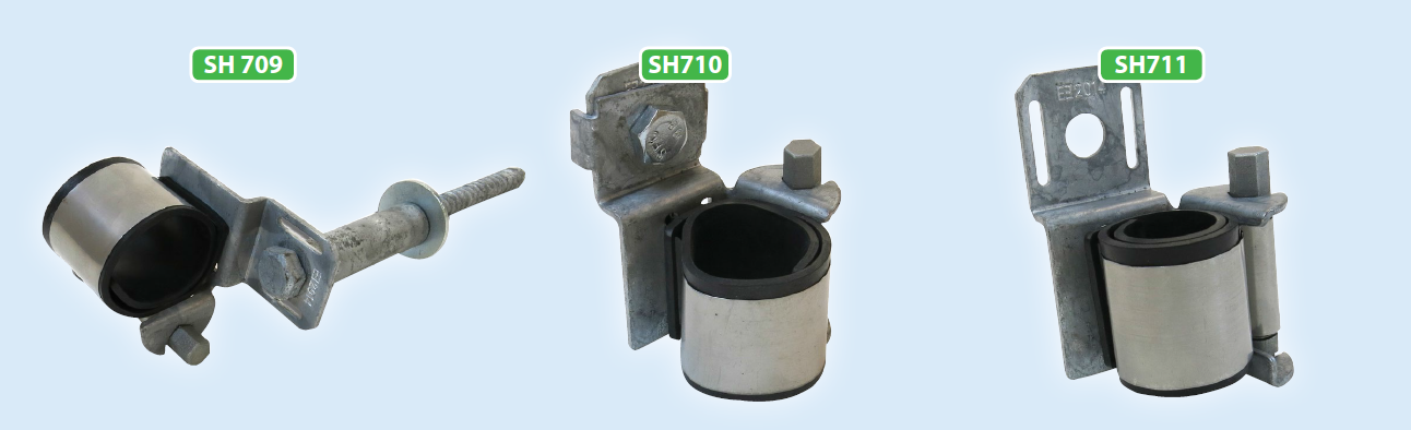 Kabelhållare SH709, 710 och 711 från ENSTO