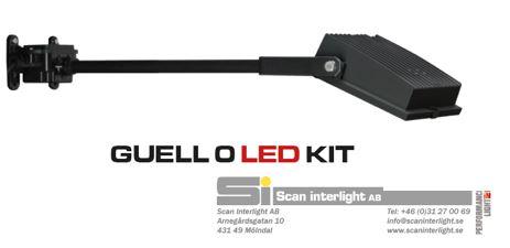 Guell 0 LED kit, strålkastarkit för skyltbelysning