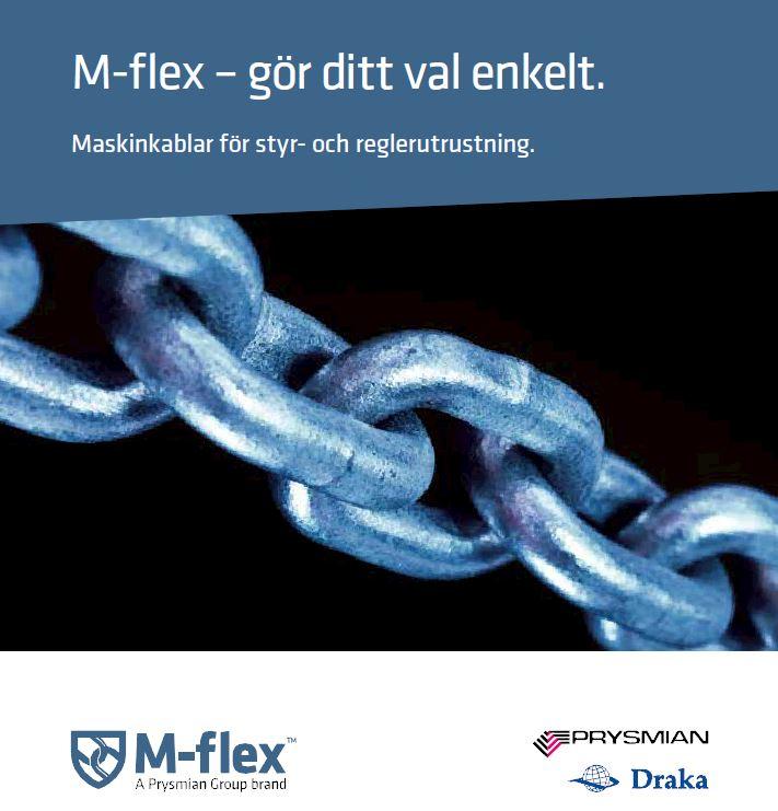 M-flex – maskinkablar för krävande miljö