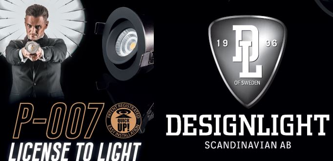 P-007, ny innovativ downlight från Designlight