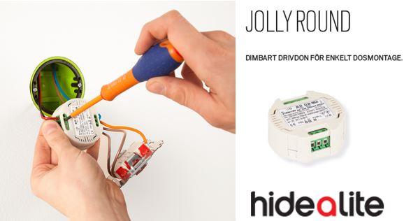 Jolly Round, för enkelt dosmontage