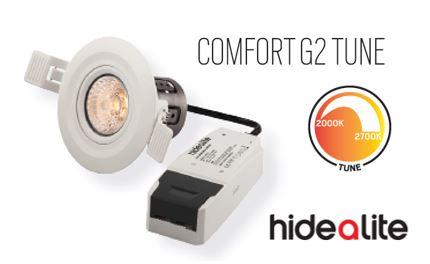 Comfort G2 Tune, med dimbar färgtemperatur