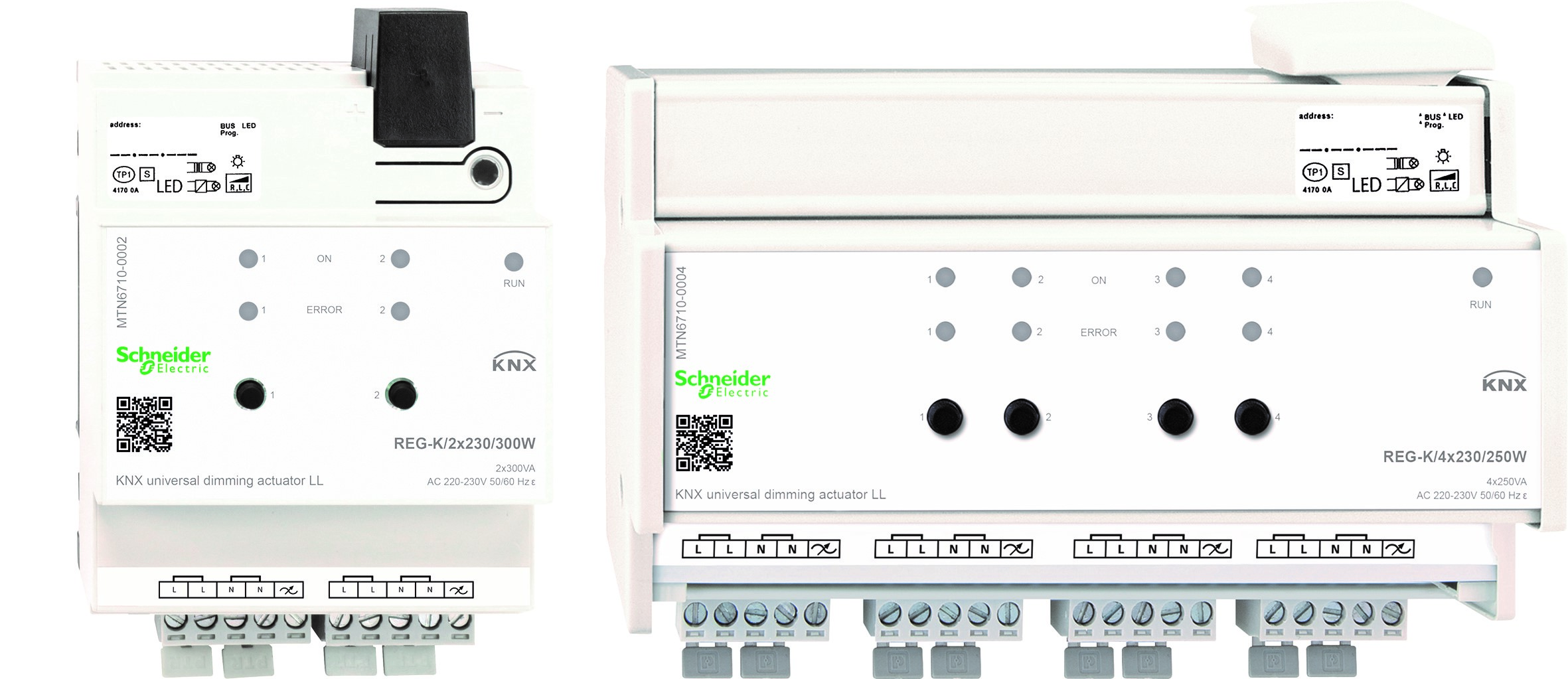 KNX dimmeraktorer LED