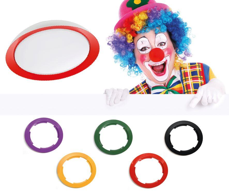 Clown, en ny armaturserie som inte bara lyser utan även sätter färg på omgivningen