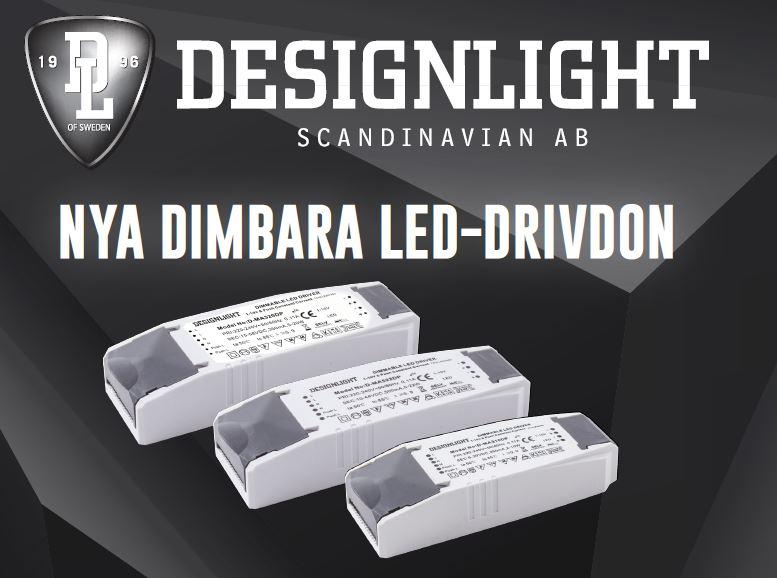 Nya dimbara LED-drivdon från Designlight