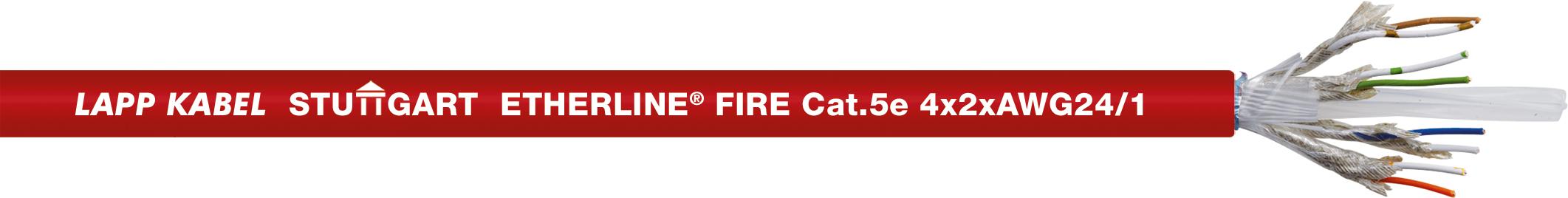 Brandsäker Datakabel