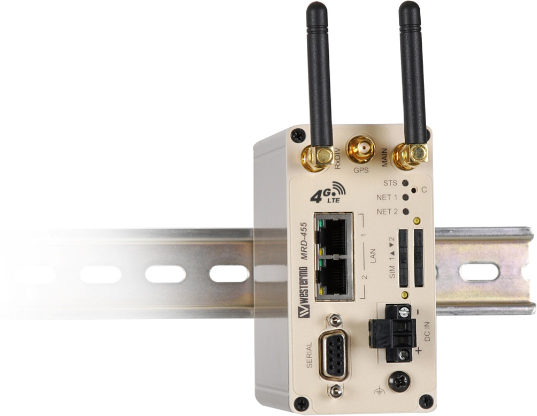 Nya 3G/4G-routrar Westermo