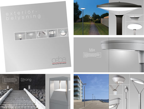Ny inspirationsbroschyr utomhusbelysning från Cebe Belysning