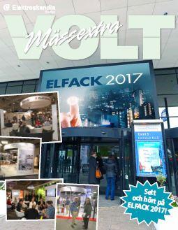 Sett och hört på Elfack 2017!