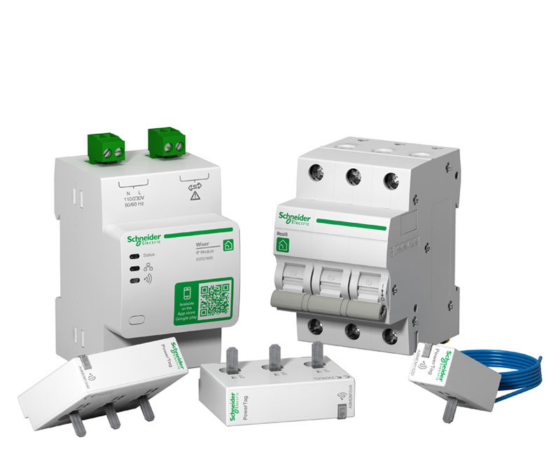 Två kompletta kit med Resi9 och Wiser Energy